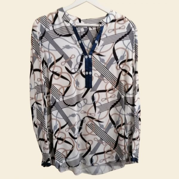 Bariloche Turia Shirt Navy