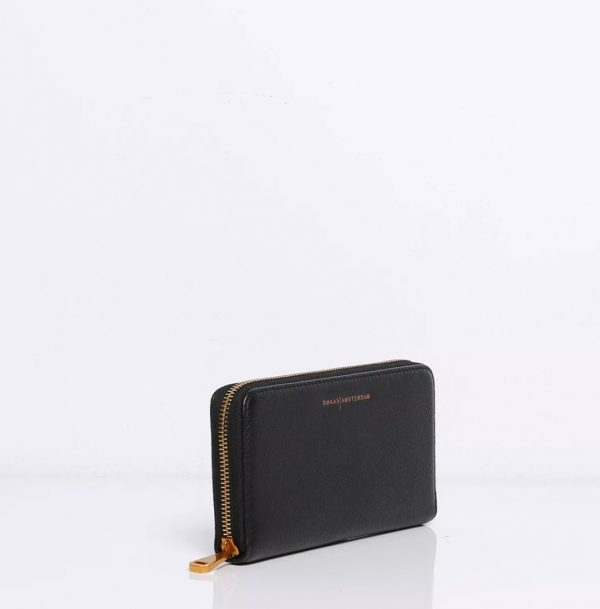 Smaak Wally Black Wallet