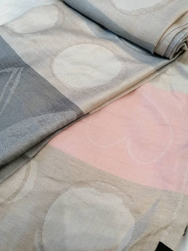 Fraas Dotted Love Scarf - Taupe