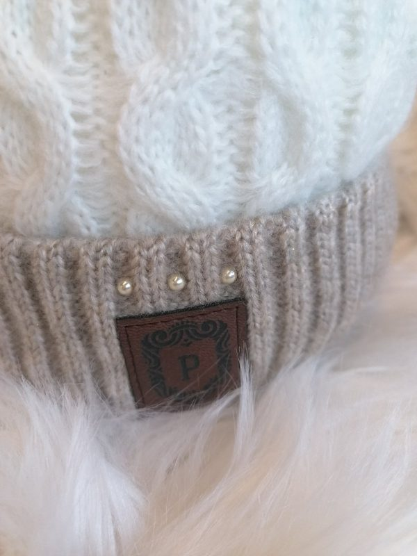Perfect Hats Two Tone Cream