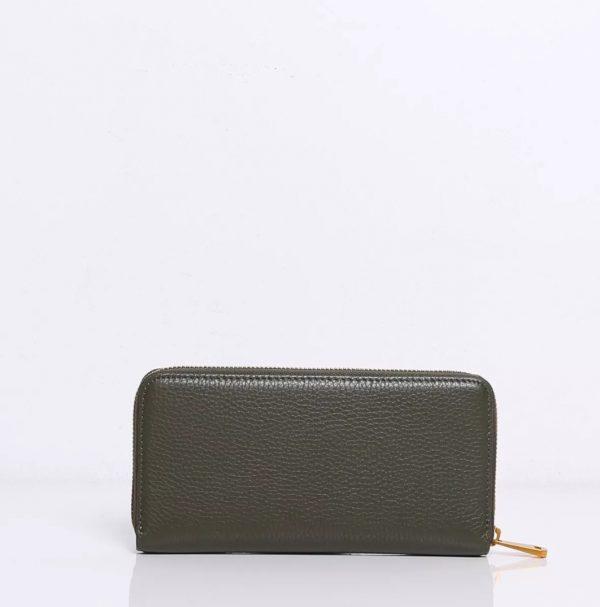 Smaak Wally Army Green Wallet