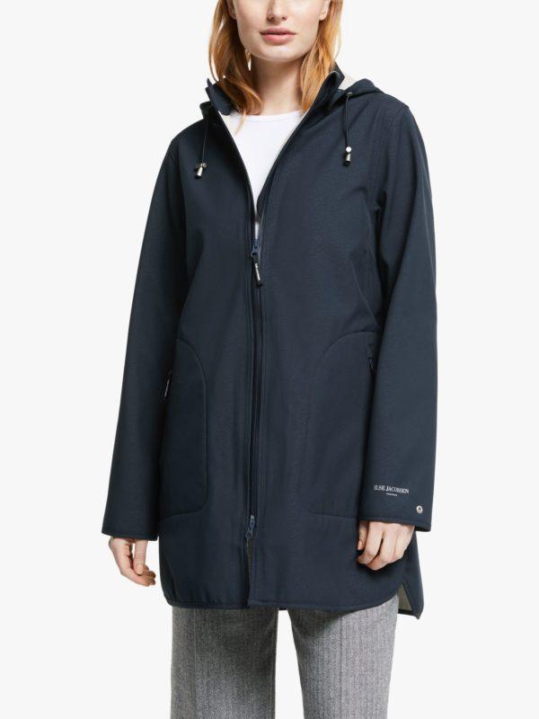 Ilse Jacobsen Raincoat 135B Dark Indigo