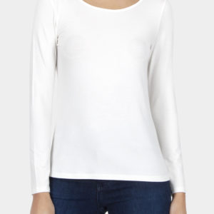 Cotton Bros Off White Long Sleeve Tee