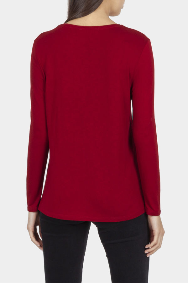 Cotton Bros Flame Scarlet Top