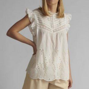 Numph Nualgra Shirt in White