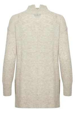 Soaked in Luxury Angel Rollneck Pullover Whisper White