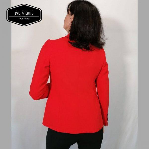 Bariloche Uruguay Red Blazer