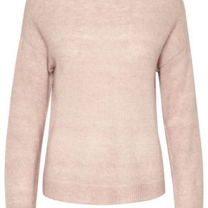 Cream Kaitlyn Pullover in rose dust