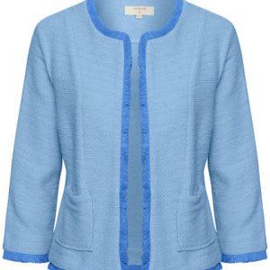 Cream Neru Cardigan Provence Blue