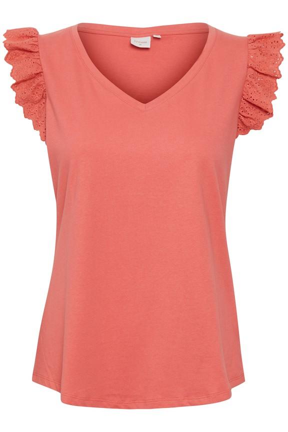 Cream Mynte T-Shirt Cranberry