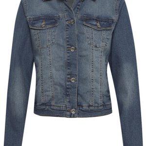 Cream Lisa Denim Blue Jacket