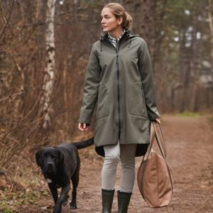Ilse Jacobsen Raincoat 128 Army Green