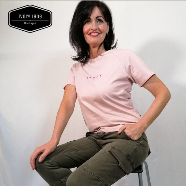 Chalk Darcey Pink T-shirt Bright