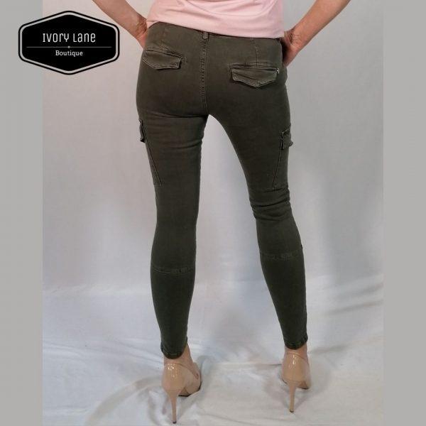 Pieszak Poline Cargo Jeans Army
