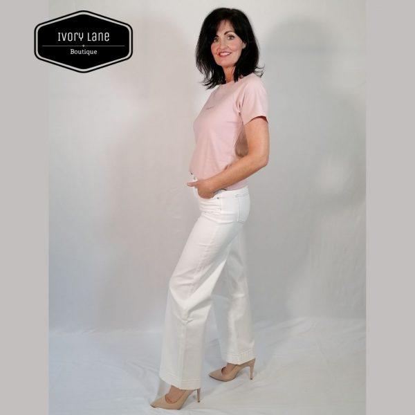 Pieszak Gilly Wide Swan Jeans Ecru