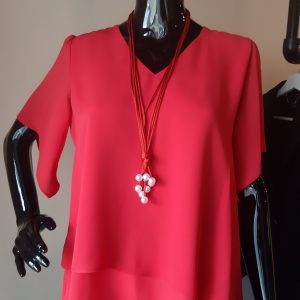 Tinta Style Eloise Top Red