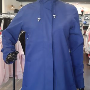Ilse Jacobsen raincoat 115b in Blue Depth