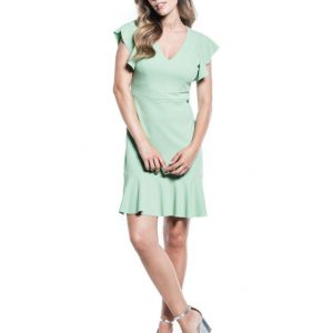 Cotton Brothers Dress in Green Oasis