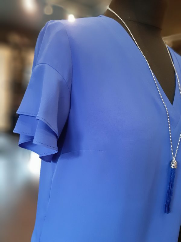 Tinta Style Damaris Royal Blue Shirt