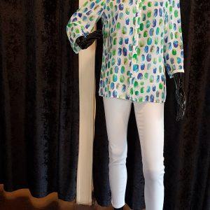 Tinta Style Sibila Blue Shirt