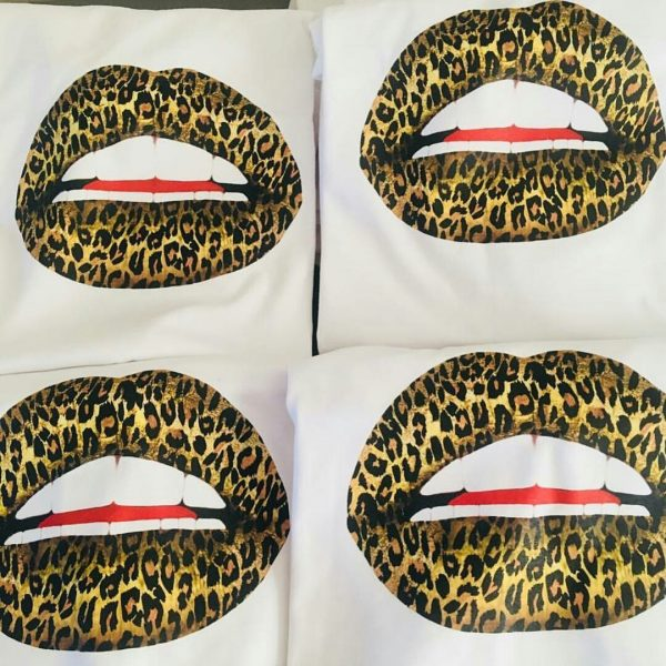 Gina Potter Leopard Lips T-Shirt
