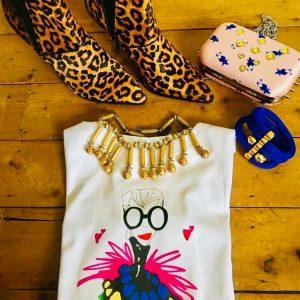 Gina Potter Iris Apfel T-Shirt