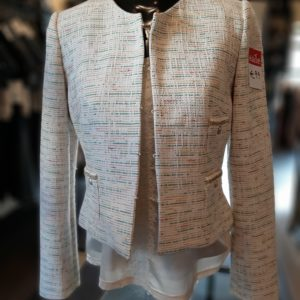 Bariloche Tweed Fitted Jacket