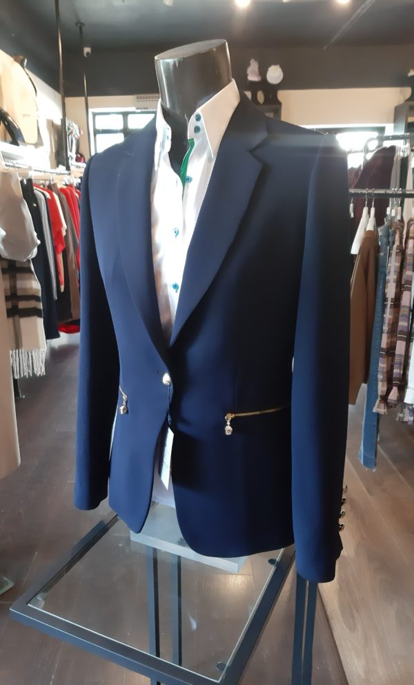 Bariloche Tudela Tailored Navy Blazer