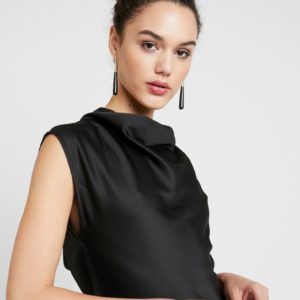 Soaked in Luxury Black Taimi Dress