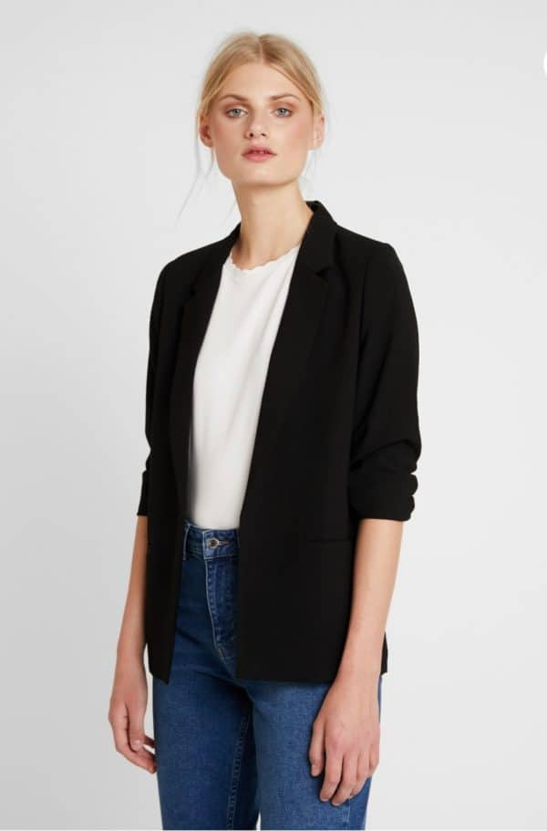 Soaked in luxury Black Shirley Blazer