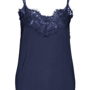Soaked In Luxury Clara Singlet in Navy