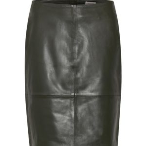 Soaked in Luxury Folly Noos Leather Skirt