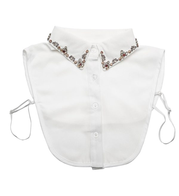 Buttons and Dote Anna Collar Bib