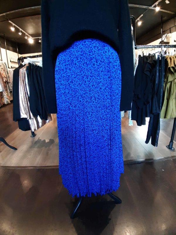 Louche Rima Honeysuckle Pleated Skirt