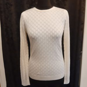 Soaked and Luxury Menika Jumper Antique White