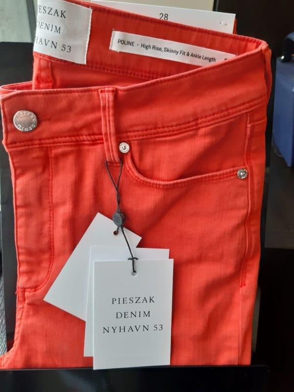 Pieszak Poline Ankle Red Jean