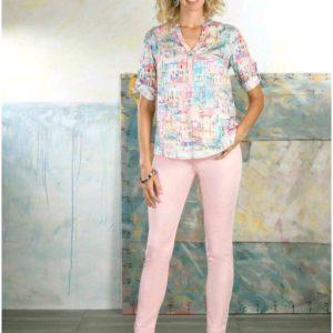 Tinta Style Dalia Pink Shirt