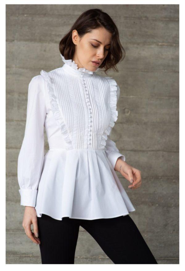The Shirt Company Gardenia White Shirt