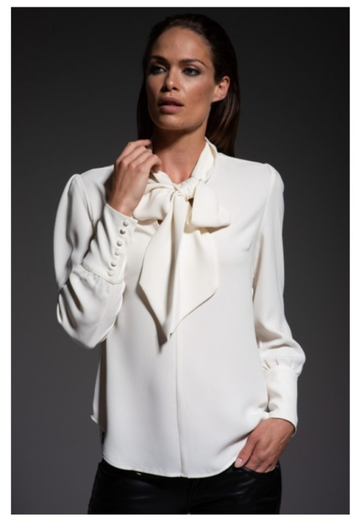 The Shirt Company Mathilde Ivory Blouse