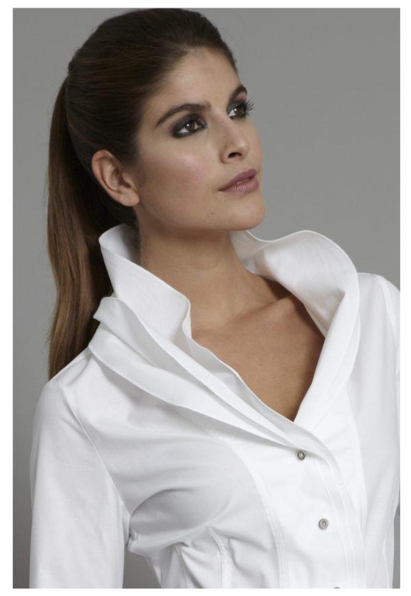 The Shirt Company Isabella White Shirt