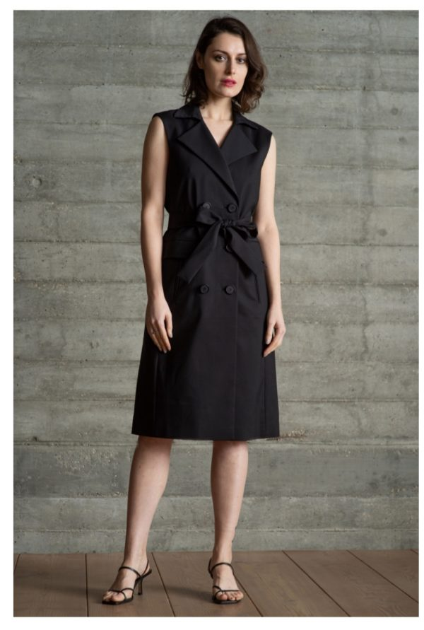 The Shirt Company Mackenzie Black Dress