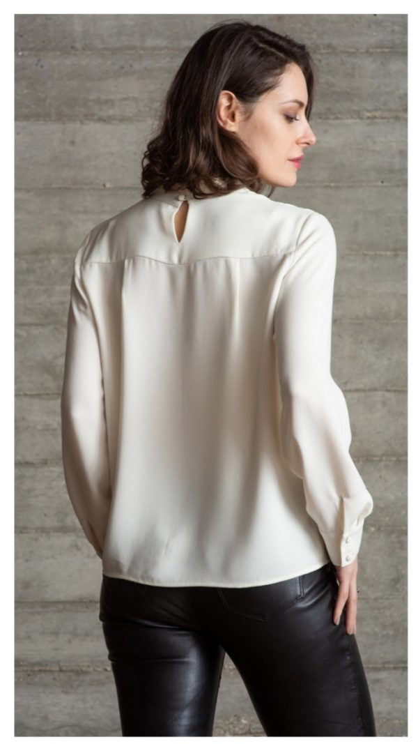 The Shirt Company Belmont Ivory Blouse