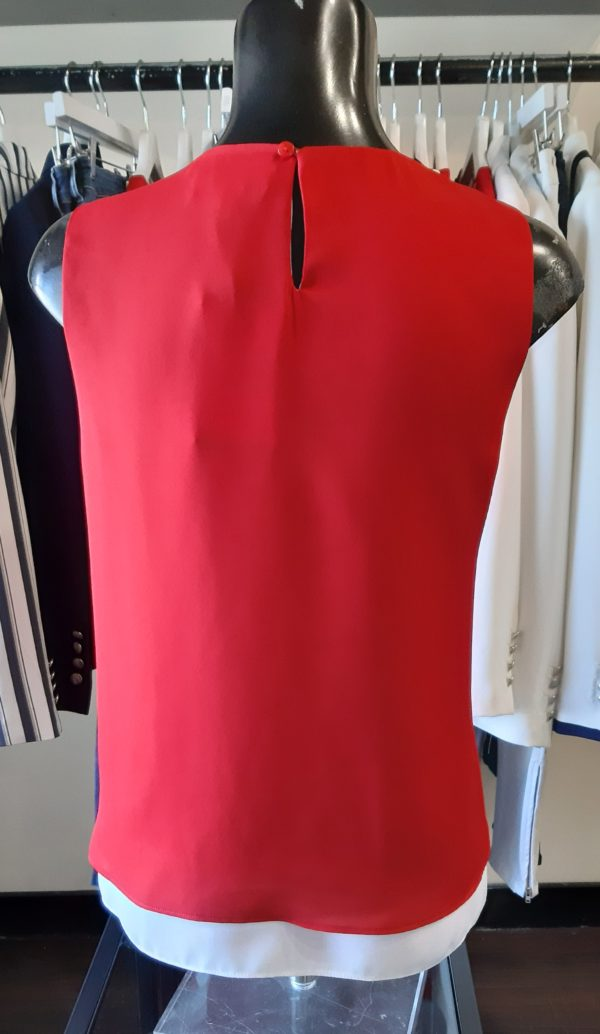 Tinta Style Chanel Red Top