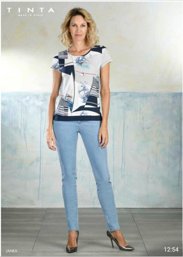 Tinta Style Janka Navy Top