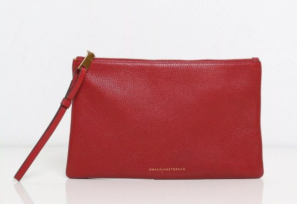 Smaak Paddy Red Clutch