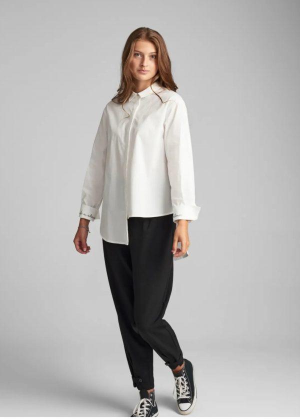 Numph Bristol Shirt in Pristine