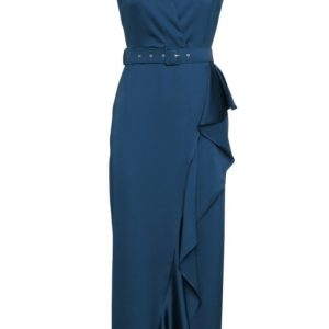Access Fashion Blue Drape Dress