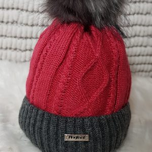 perfect hats rasberry two tone