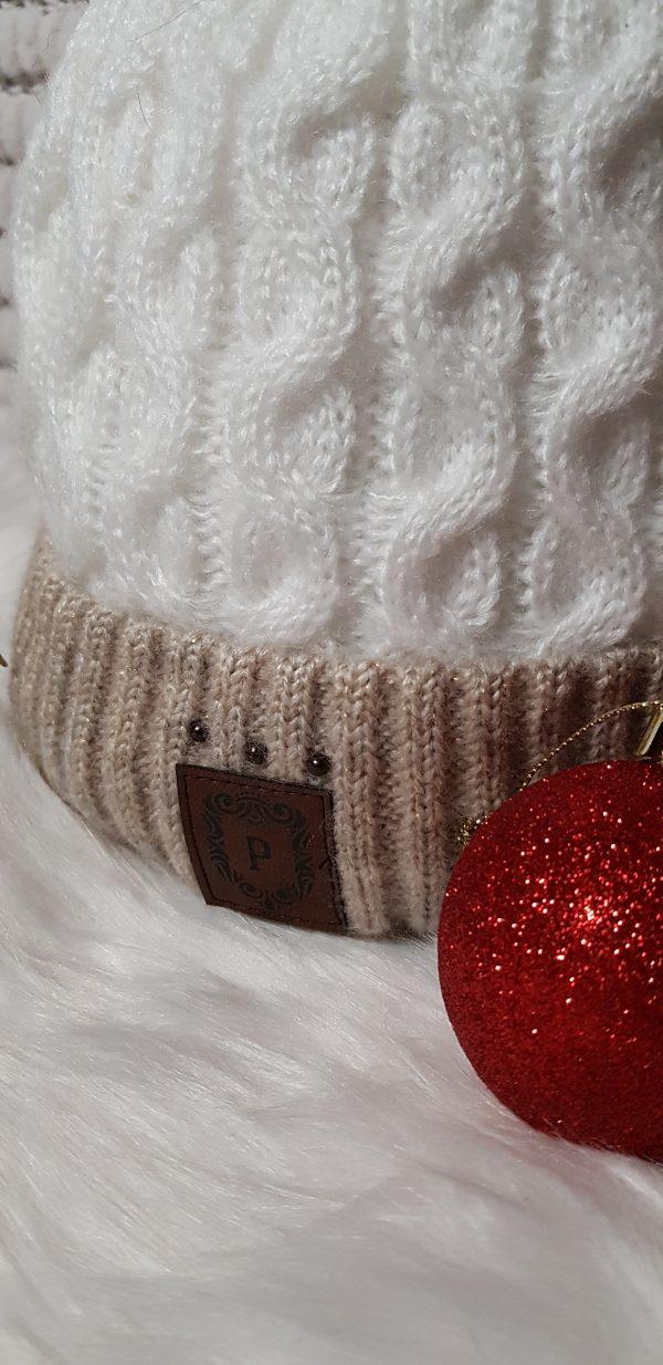 Perfect Hats Two Tone Cream
