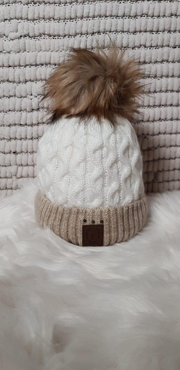pertect hats 2 tone cream